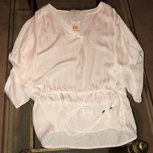 Michael Kors Sheer Blouse